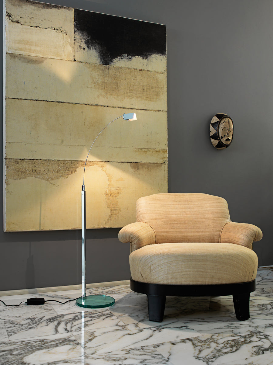 FALENA Floor Lamp by Alvaro Siza for Fontana Arte - DUPLEX DESIGN