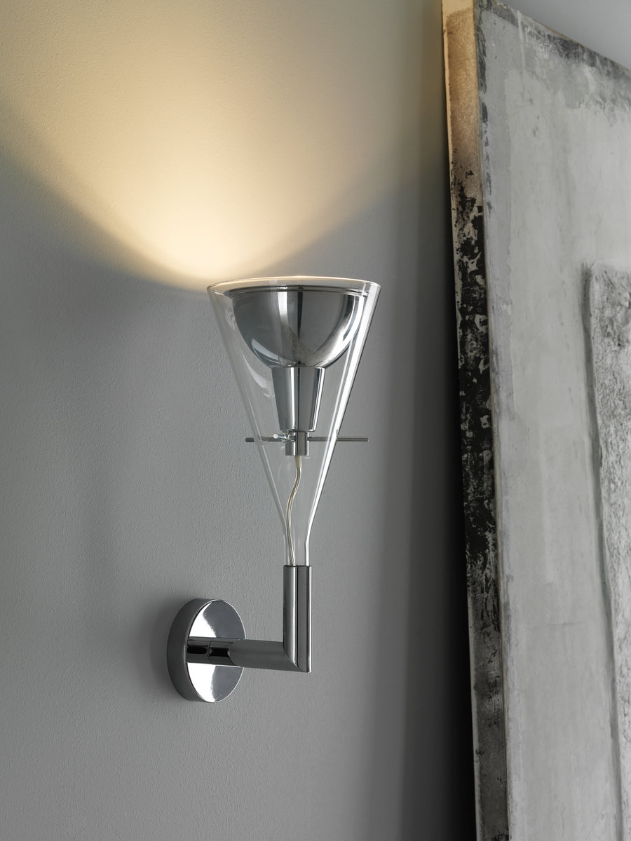 FLUTE Wall Lamp by Franco Raggi for Fontana Arte - DUPLEX DESIGN