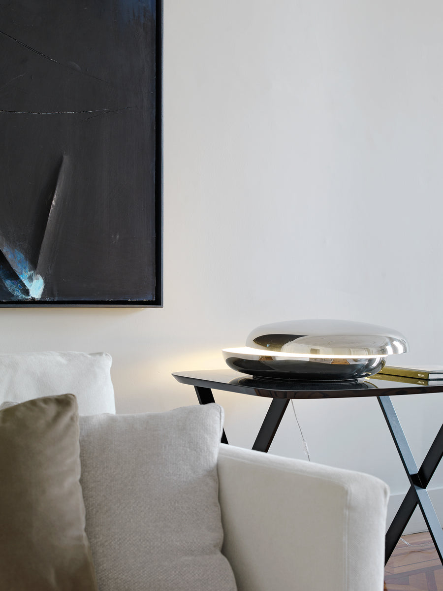 LOOP Table Lamp by Voon Wong and Benson Saw for Fontana Arte - DUPLEX DESIGN