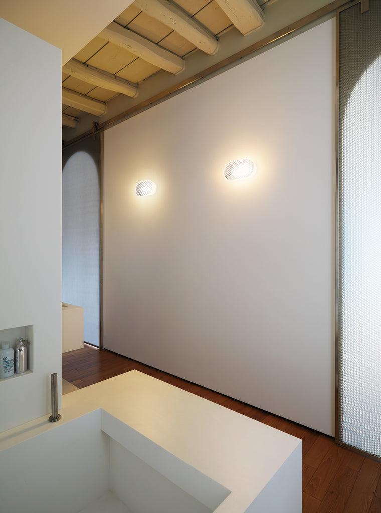 VITRO Wall and Ceiling Lamp by Emmanuel Babled for Fontana Arte