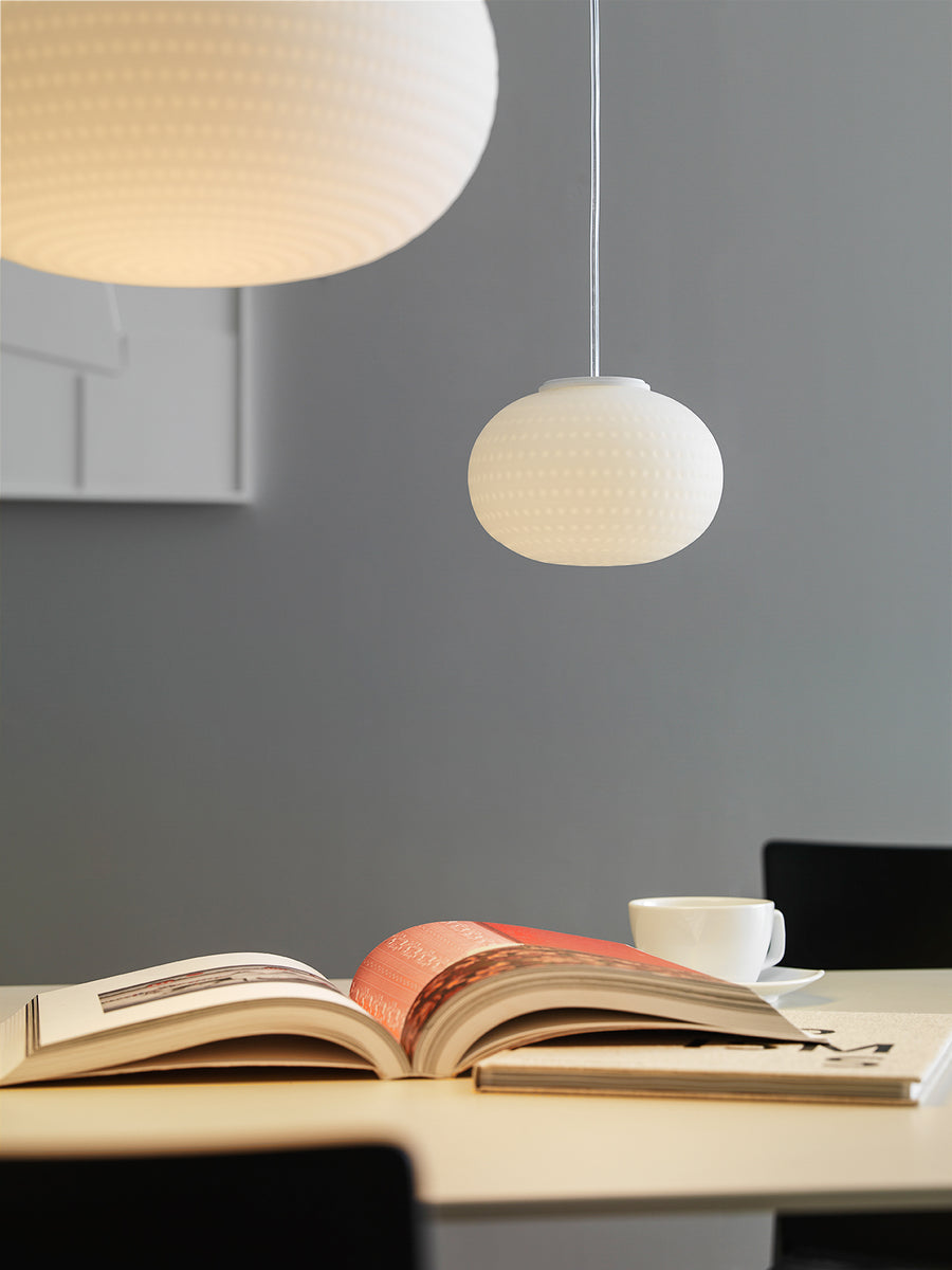 BIANCA Suspension Lamp by Matti Klenell for Fontana Arte - DUPLEX DESIGN