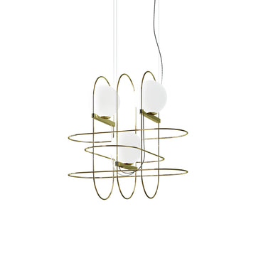 SETAREH 3 Suspension Lamp by Francesco Librizzi for Fontana Arte