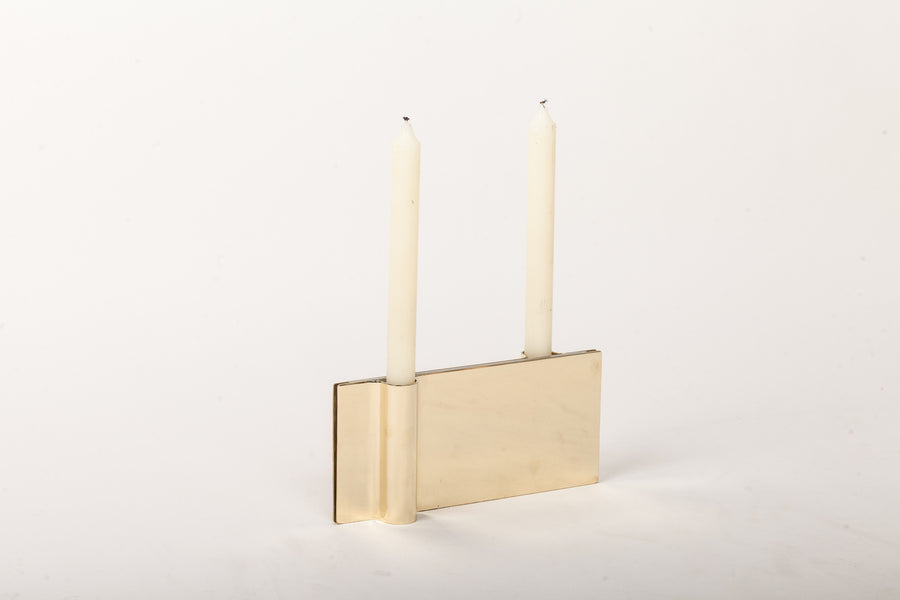 FOLIO Candle Holder by Antigone Acconci and Riccardo Bastiani for Mingardo - DUPLEX DESIGN