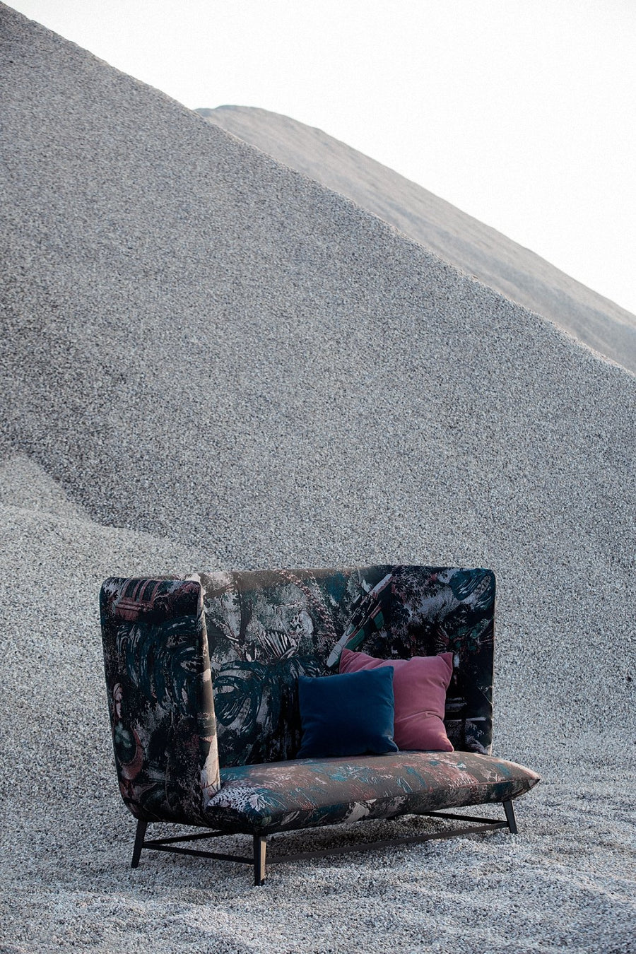 GIMME SHELTER Sofa by Moroso for Diesel Living - DUPLEX DESIGN