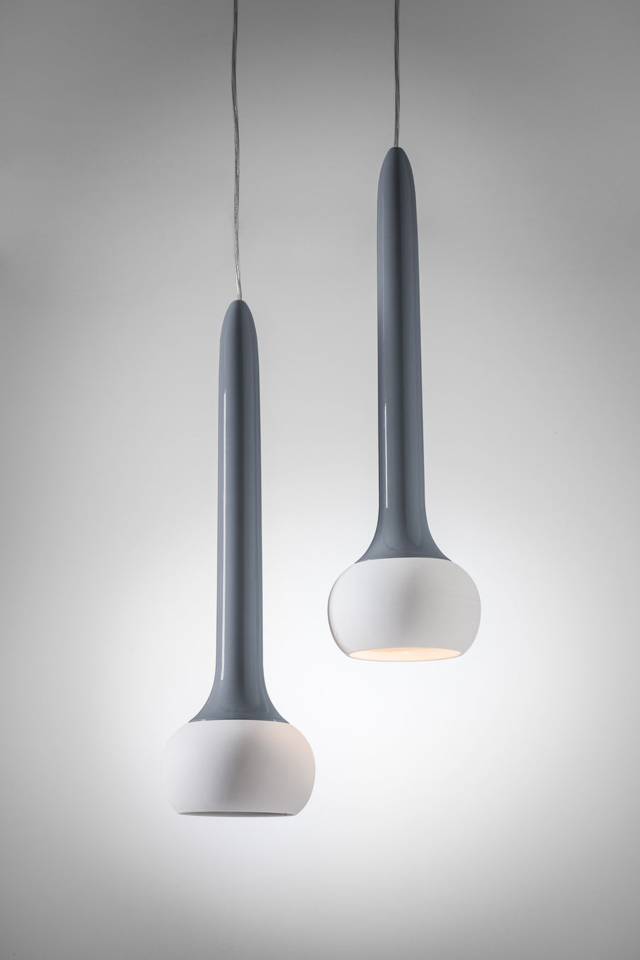 JACHIN Ceramic Suspension Lamp by Giorgio Biscaro for Bosa - DUPLEX DESIGN
