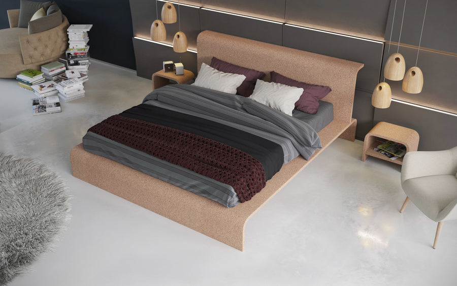 BISU Cork Bed Frame by OTQ