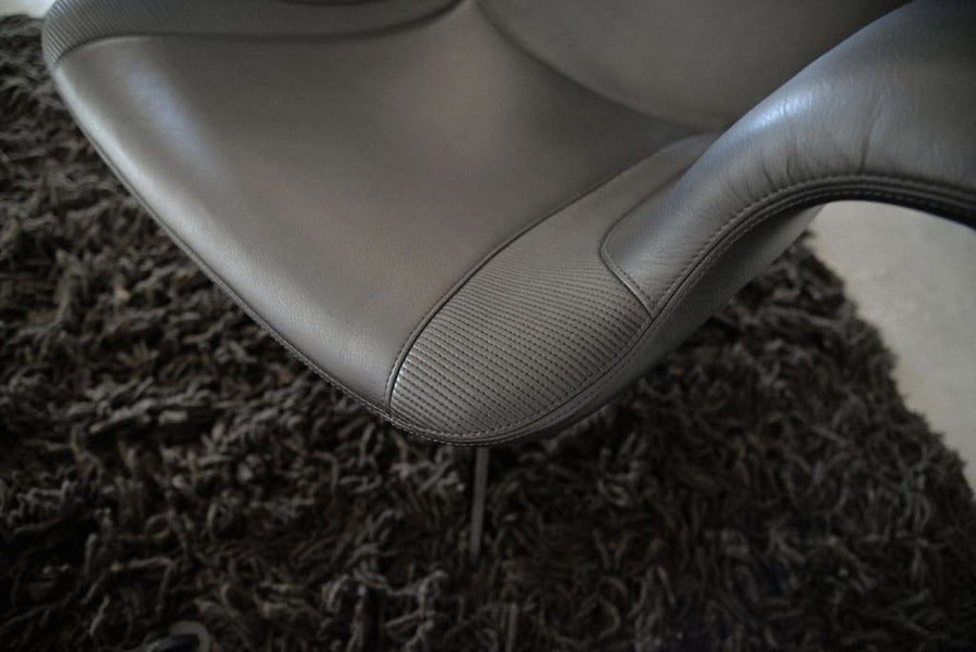 LONGWAVE Embroidered Swivel Armchair by Moroso for Diesel Living - DUPLEX DESIGN