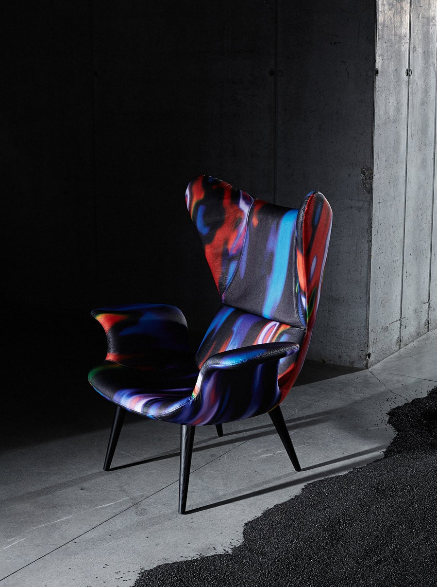 LONGWAVE Armchair by Moroso for Diesel Living - DUPLEX DESIGN
