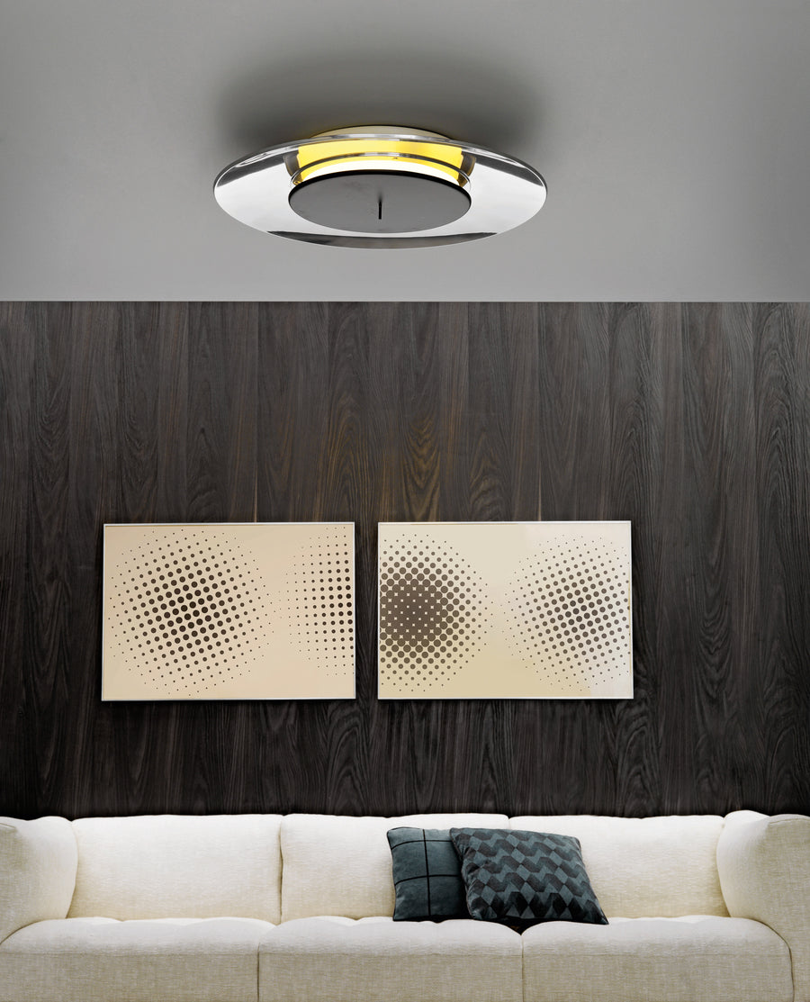 LUNAIRE Wall and Ceiling Lamp by Ferréol Babin for Fontana Arte - DUPLEX DESIGN