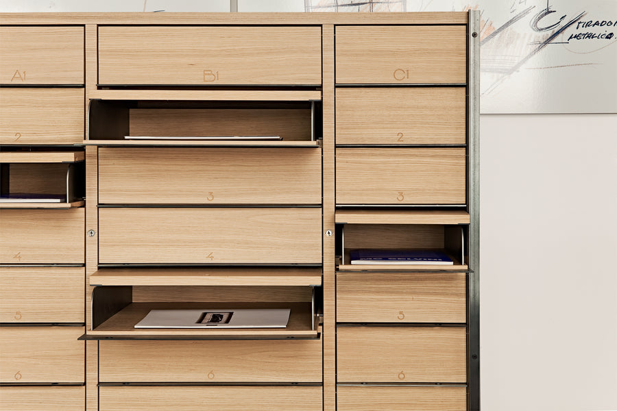CALVET Multi Purpose Chest of Drawers by Jaume Tresserra for Dessie' - DUPLEX DESIGN