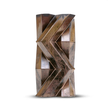 FORTRESS TOWER BRONZE CERAMIC VASE by Lara Bohinc - DUPLEX DESIGN
