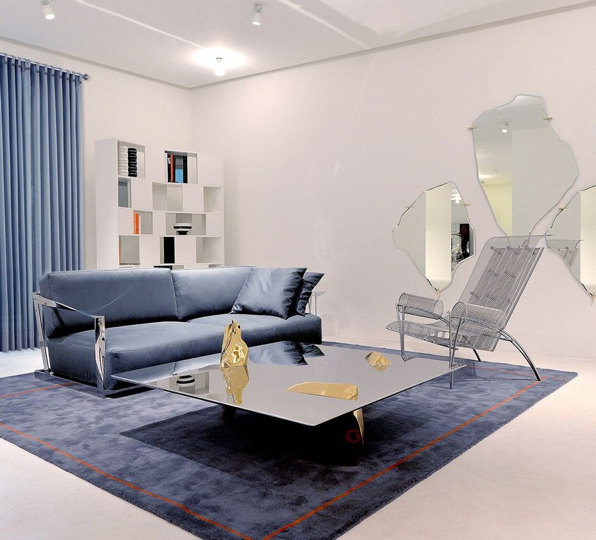 MAUD II Square Rug by Antonia Astori for Driade - DUPLEX DESIGN