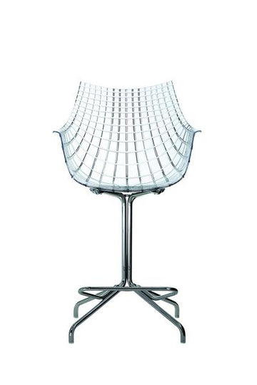 MERIDIANA Swivel Low Stool by Christophe Pillet for Driade