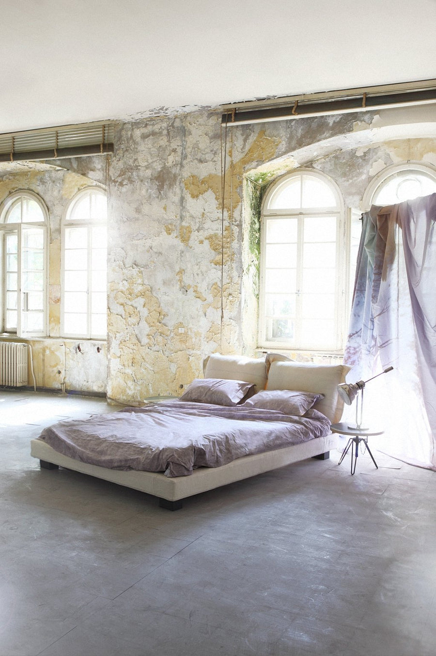 NEBULA Bed by Moroso for Diesel Living - DUPLEX DESIGN