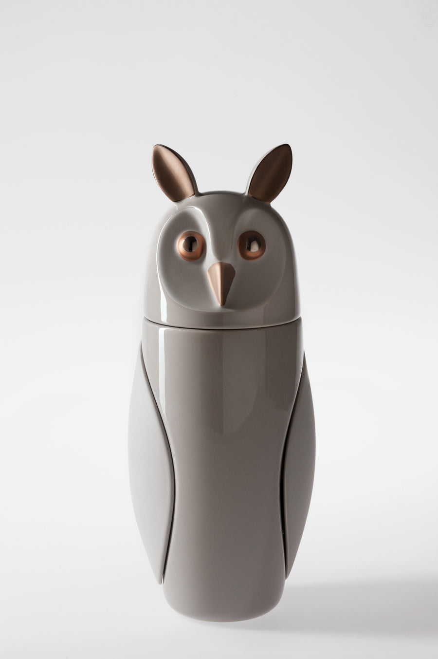 OWLS Ceramic Sculptures by Manolo Bossi for Bosa - DUPLEX DESIGN