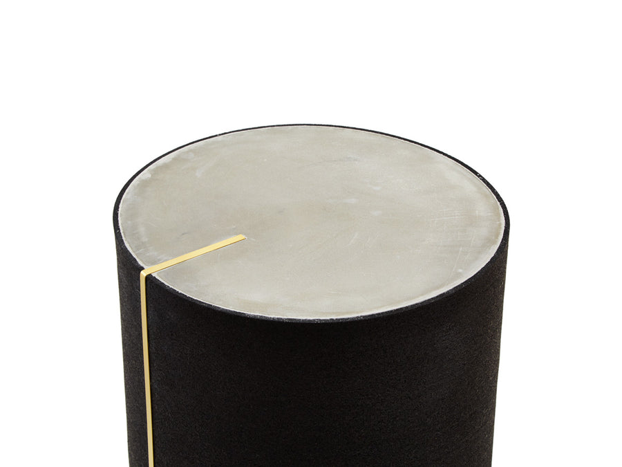 RUBBER CYL II Side Table by Arielle Assouline-Lichten for Slash Objects
