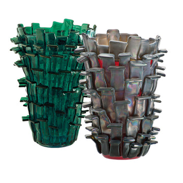 RITAGLI Glass Vase by Fulvio Bianconi for Venini