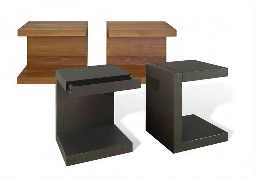 SCOMODINO C Shaped Side Table With Drawer By Dessieu0027 Design