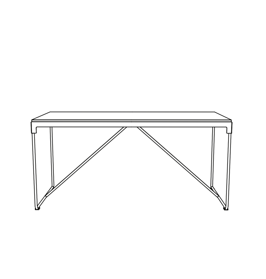 MINGX Table by Konstantin Grcic for Driade - DUPLEX DESIGN