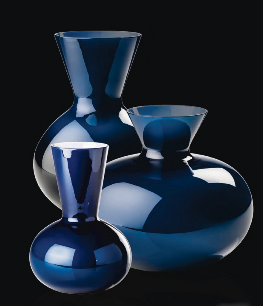 IDRIA Glass Vase Series by Venini - DUPLEX DESIGN