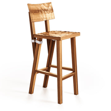 TORQUEMADA Carved Stool by Philippe Starck for Driade
