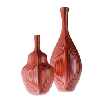 TESSUTI BATTUTI Vases by Carlo Scarpa for Venini