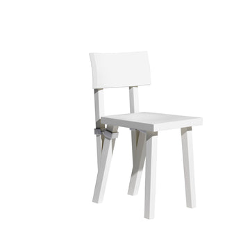 TORQUEMADA Matt Lacquered Textured Beech Chair by Philippe Starck for Driade