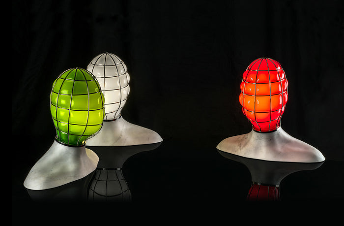 MUSA Glass Sculpture Lamp by Fabio Novembre for Venini