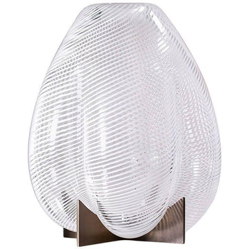 VENTURI PEAR WHITE VASE by Lara Bohinc