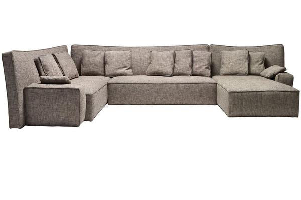 WOW LOW BACK Composition Sofa F1 and F2 by Philippe Starck for Driade