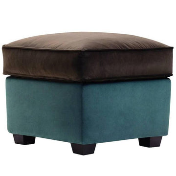 ZARINA POUF Ottoman by Cesare Cassina for Adele C
