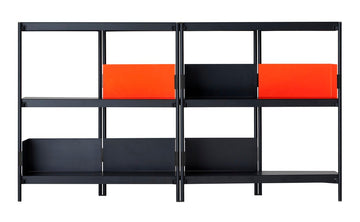 ZIGZAG Low Steel Bookcase by Konstantin Grcic for Driade