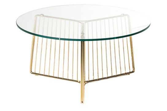 ANAPO Small Round Coffee Table by Gordon Guillaumier for Driade