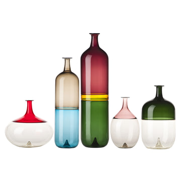 BOLLE Glass Vase Series by Tapio Wirkkala for Venini - DUPLEX DESIGN