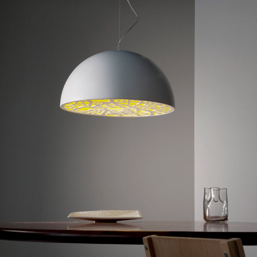 City Pendant Light White