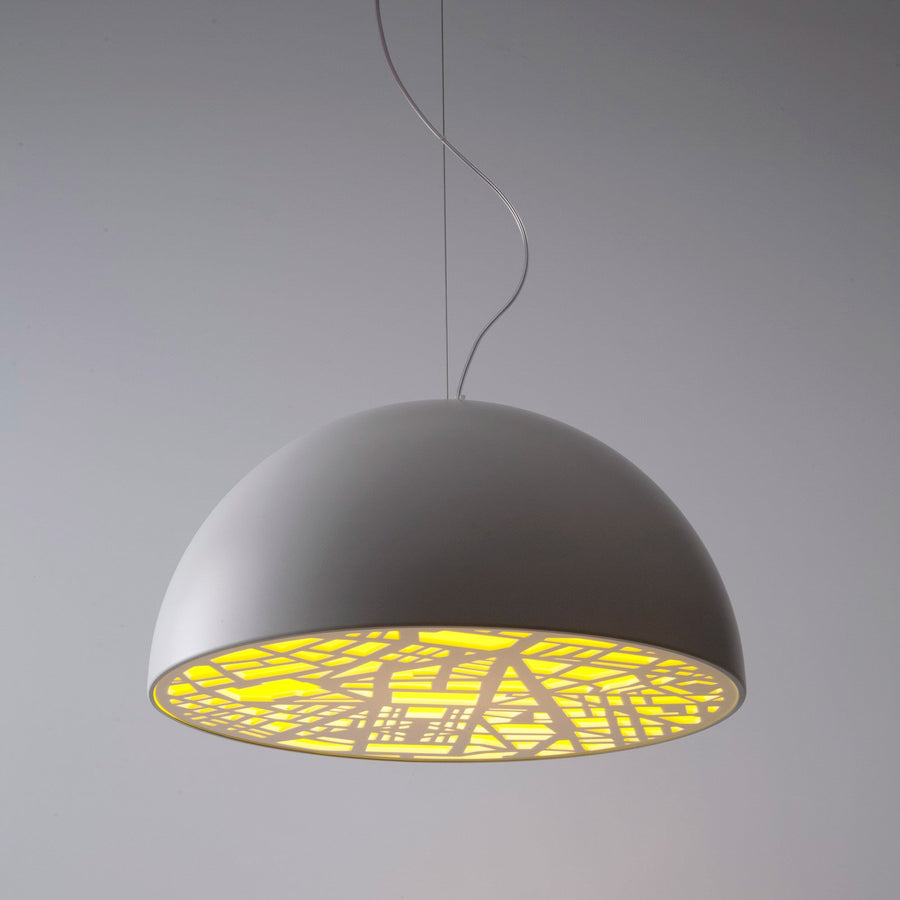 City Pendant Light Yellow