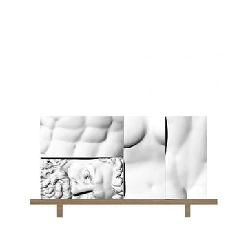 ERCOLE E AFRODITE Composition 2 Cabinet by Driade Lab for Driade - DUPLEX DESIGN