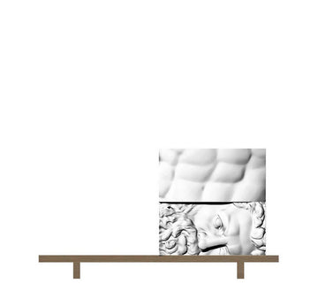 ERCOLE E AFRODITE Composition 4 Cabinet by Driade Lab for Driade - DUPLEX DESIGN