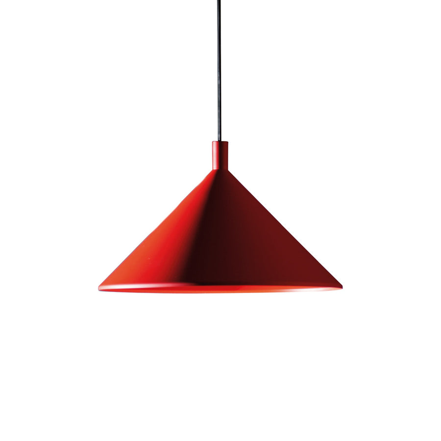 Cono Pendant Light Red