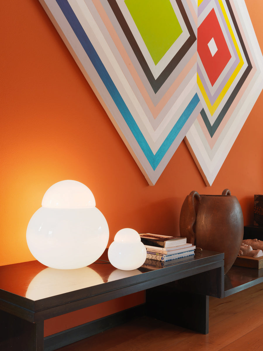 DARUMA Table Lamp by Sergio Asti for Fontana Arte - DUPLEX DESIGN
