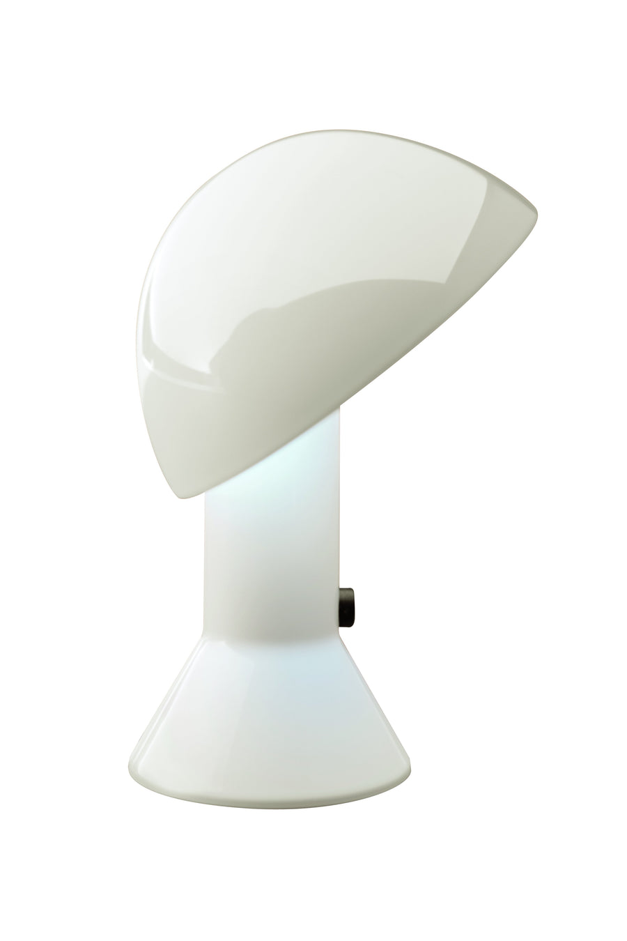 Elmetto Table Lamp in white