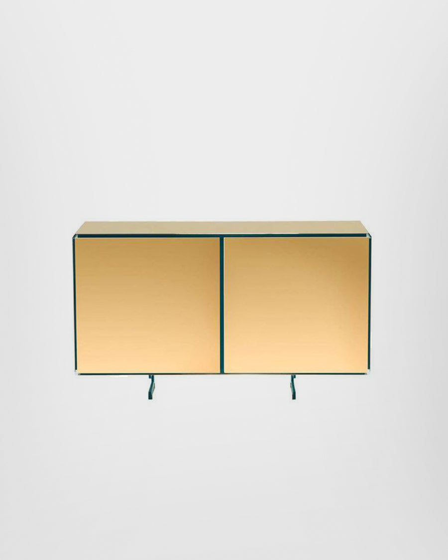 GOLD TWO DOORS SIDEBOARD