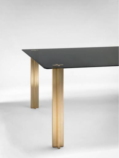 GOLD SQUARE TABLE