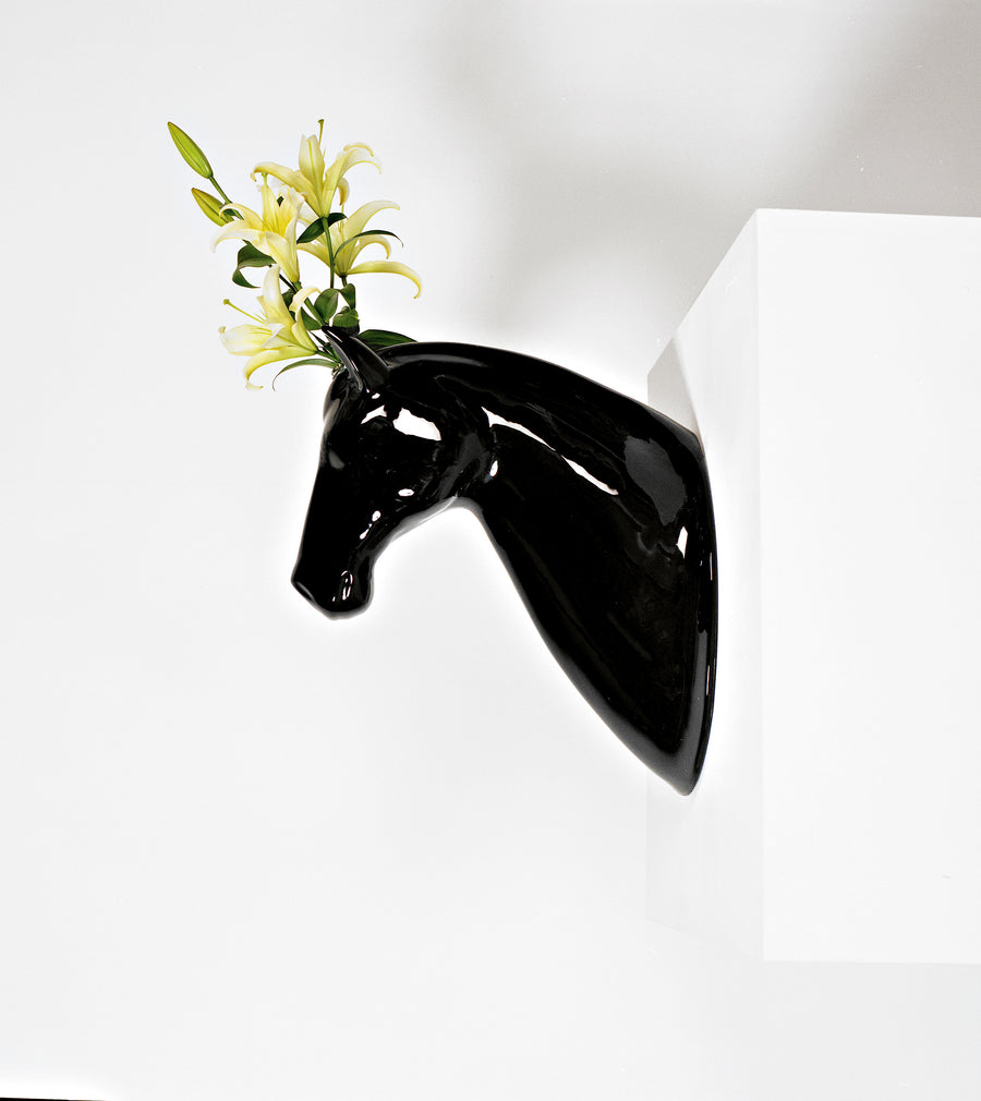 HORSE Sculpture and Wall Vase by Jaime Hayon for Bosa - DUPLEX DESIGN