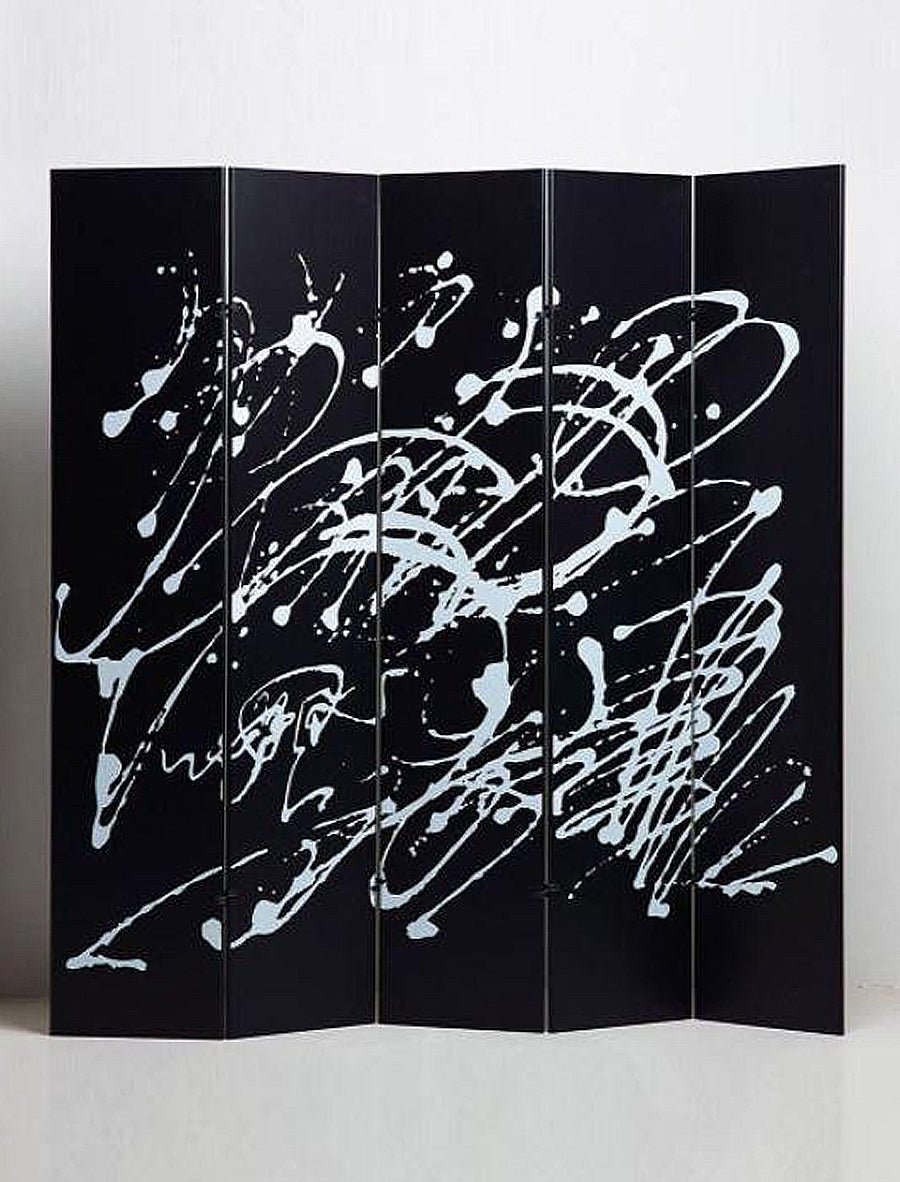 JACKSON POLLOCK BLACK SCREEN