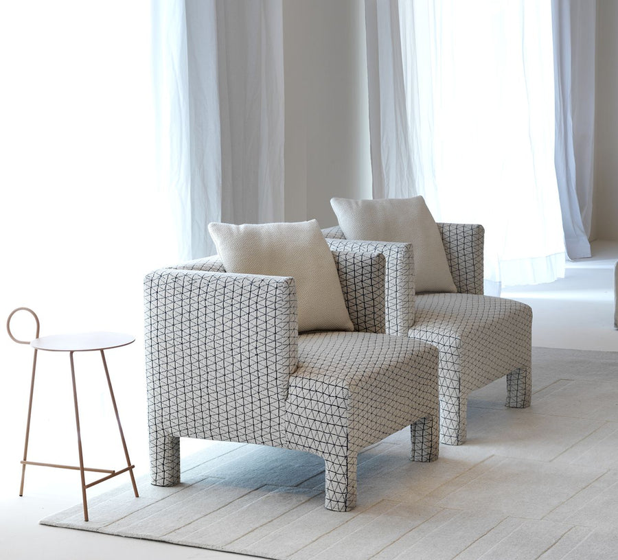 MODY Armchair by L+R Palomba for Driade - DUPLEX DESIGN
