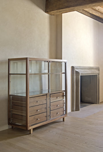 OPTIMUM Glass Display Cupboard by Stephane Lebrun for Dessie'