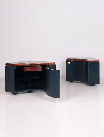PAIR OF CORNER UNITS BY LUIGI CACCIA DOMINIONI