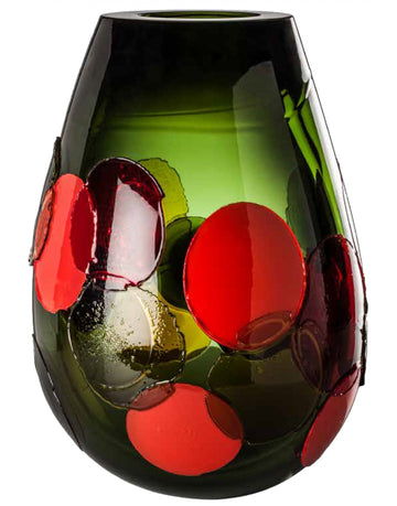 PYROS Glass Vase Collection by Emmanuel Babled for Venini