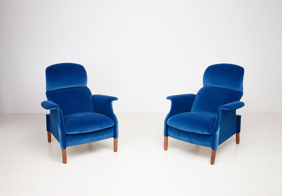 PAIR OF SANLUCA ARMCHAIRS